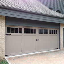 Carriage Garage Door.