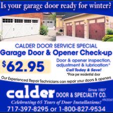 $62.95 CHECK-UP  sc 1 st  HomeAdvisor.com & Calder Door \u0026 Specialty Company   Lancaster PA 17603 - HomeAdvisor