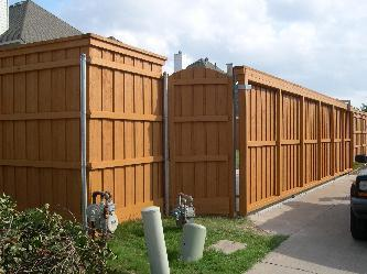 Custom Stained Fences Pictures And Photos
