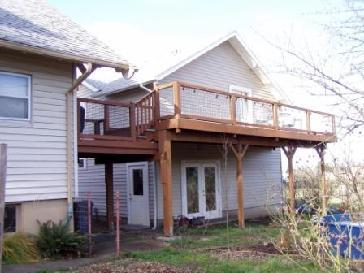 Second Story Deck Pictures And Photos