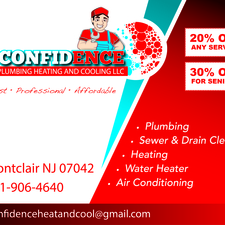 Confidence Plumbing Heating And Cooling Montclair Nj 07042