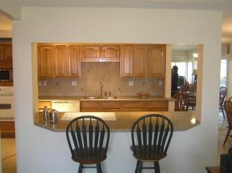 Oak Finish Kitchen Remodel Newport Beach Pictures And Photos