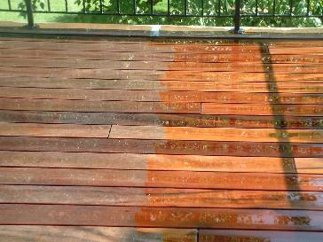 Tigerwood Decking Before Snd After Pictures And Photos