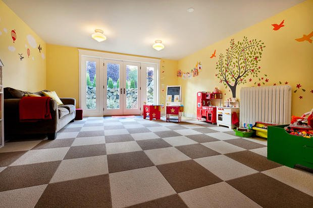 Contemporary kids room in seattle stain glass windows for Classic homes llc