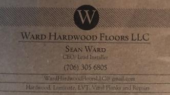 Ward hardwood floors llc augusta ga 30904 homeadvisor for Hardwood floors evans ga