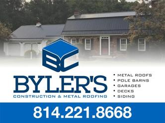 Byler S Construction Metal Roofing Uniontown Pa 15401 Homeadvisor