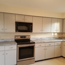 Qualicolor painting inc quincy ma 02169 homeadvisor for Kitchen cabinets quincy ma