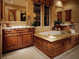 Kitchen and Bath Visions Master bathrooms