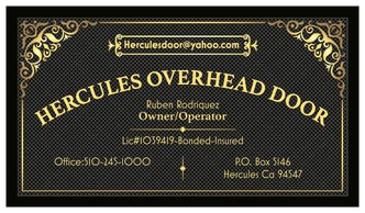 Exceptionnel Hercules Overhead Door