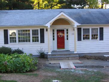Portico Addition Pictures And Photos