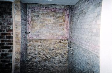 A Walk In Shower and Floor(Natural Stone) Pictures and Photos