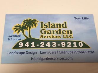 Island Garden Services Llc Bradenton Fl 34203
