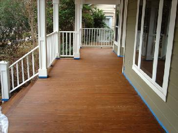 Heights Porch Paint Strip Then Stain Pictures And Photos