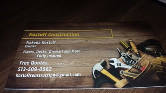 Kostoff Construction Llc Fairfield Oh 45014 Homeadvisor