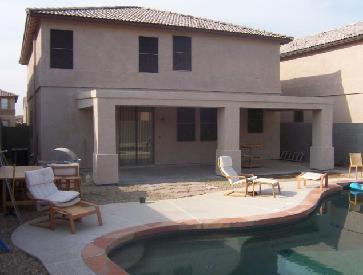 Flat Roof Stucco Patio Pictures And Photos