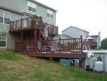 Orris 2 level deck pictures and photos for 2 level deck designs