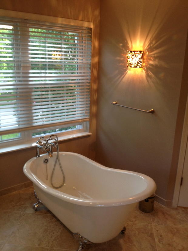 Victorian Bathroom In Mount Prospecy Wall Light Free Standing Bath Tub By Network Remodeling