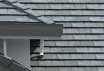 Ecoroof rubber shakes pictures and photos for Davinci shake roof reviews