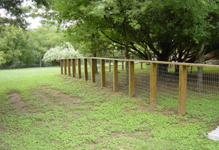 Wood Fence With Top Rail Pictures And Photos