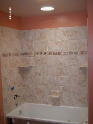 Ceramic Tile Showers And Tub Surrounds And S