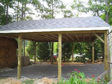 Download log carport plans plans free for Open carport plans
