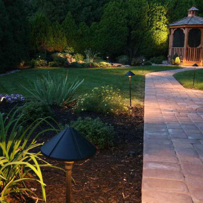 Bright Ideas for Landscape Lighting Design | Home Matters on florida backyard landscaping design ideas, florida residential landscape design, florida tropical landscape design,