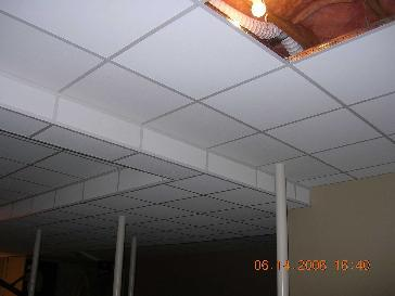 Suspended Ceiling In Lower level Playroom Pictures And Photos