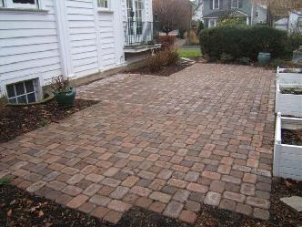 paver patios pictures and photos