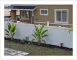 Vinyl or PVC Fence