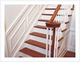 Wood Stairs Railings